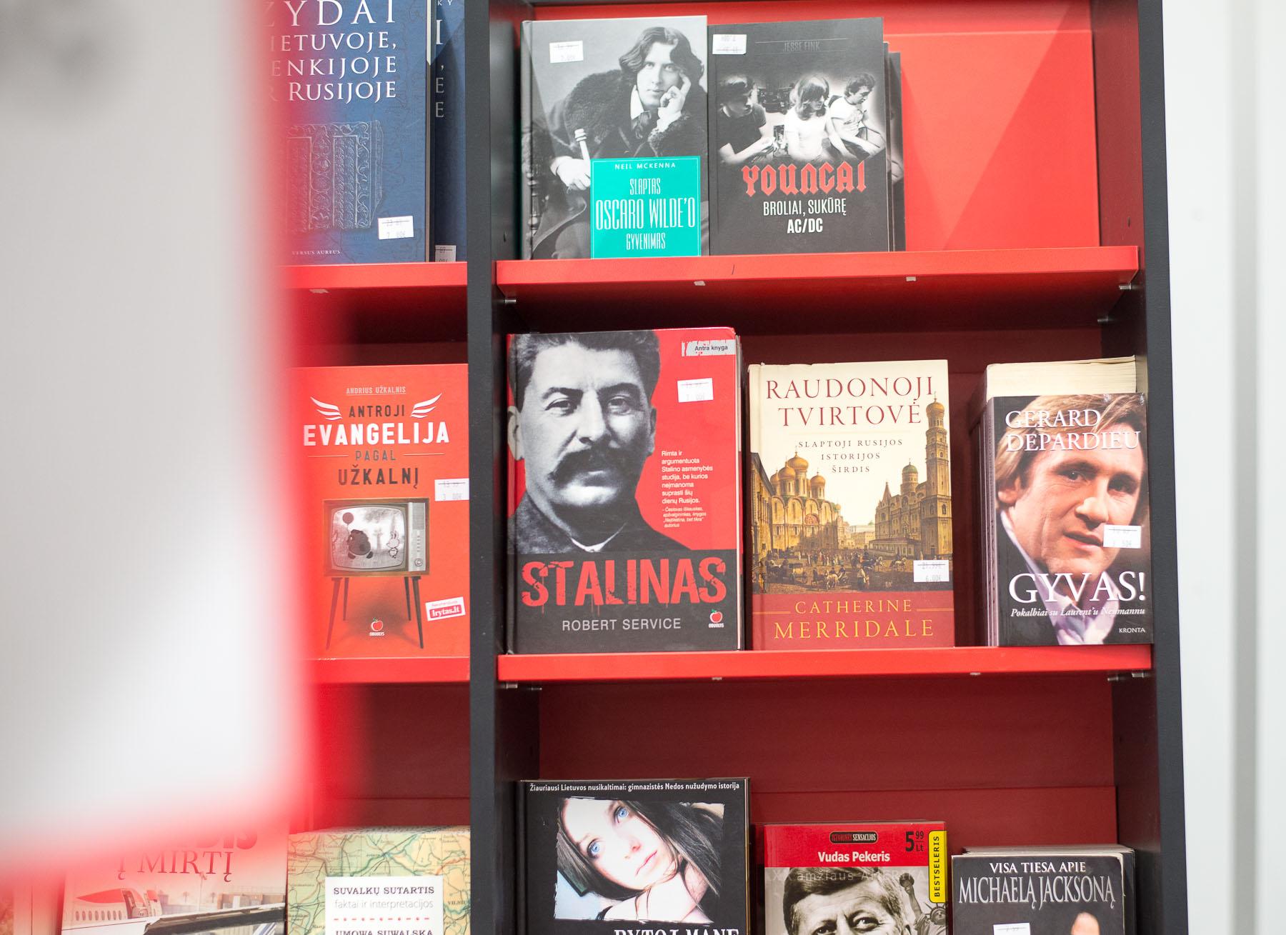 Atrado vietą, kur knygos po eurą