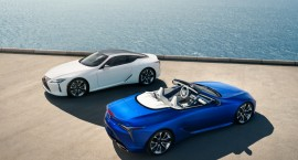 """""""Lexus"""" naujienos: atnaujinta LC 500 kupė ir nauja """"LC 500 Convertible"""""""