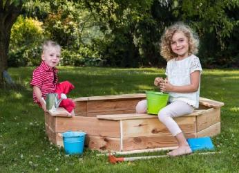 Ko reikia įdomioms vaikų pramogoms lauke?